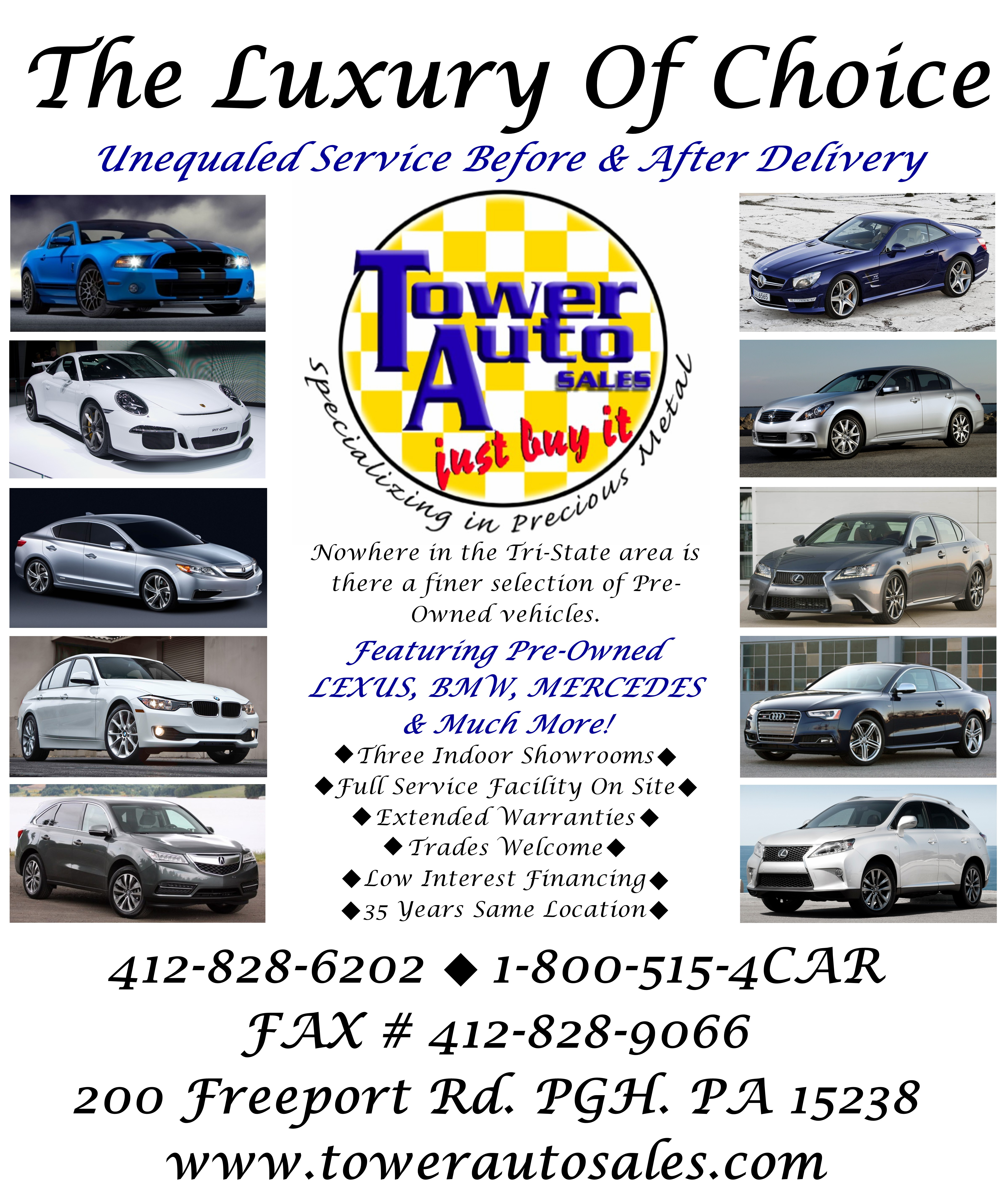 Tower Auto Sales >> Tower Auto Sales Inc In Blawnox